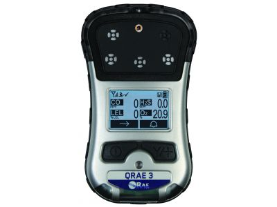 QRAE 3 - Monitor sense fils per fins a quatre gasos compacte i versátil
