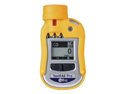 ToxiRAE Pro - Wireless single-gas and oxygen detector with interchangeable sensors