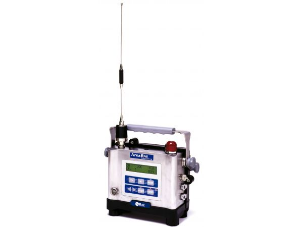 AreaRAE Gamma - Rugged, weather-resistant, wireless multi-gas and radiation wide-area monitor