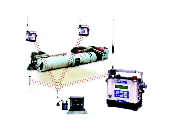 AreaRAE Steel - Monitor multi-gas inalámbrico y portátil diseñado para entornos hostiles extensos