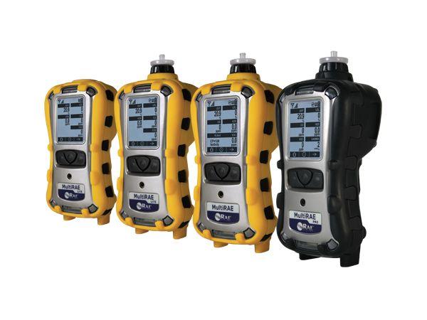 Familia MultiRAE - Monitores inalámbricos portátiles multi-gas y multi-amenaza
